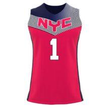 ZA Elite Basketball Jersey -0