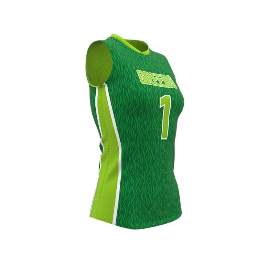 ZA Attack Sleeveless Volleyball Jersey-1126