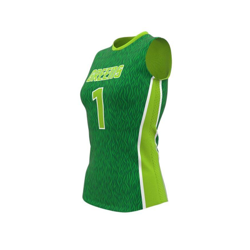 ZA Attack Sleeveless Volleyball Jersey-1129
