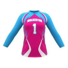 ZA Attack Long Sleeve Volleyball Jersey-0