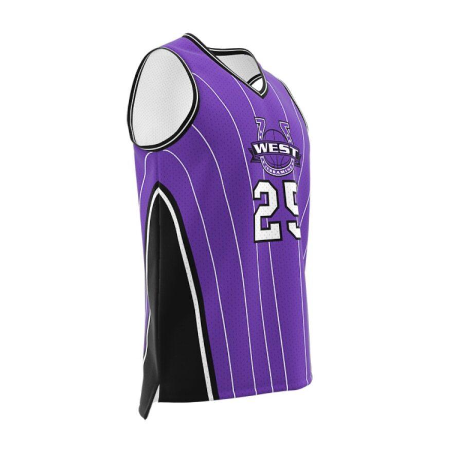 ZA GameDay Basketball V-Neck Jersey-1100