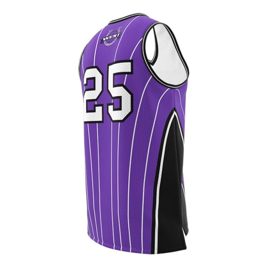 ZA GameDay Basketball V-Neck Jersey-1102