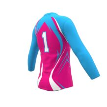 ZA Attack Long Sleeve Volleyball Jersey-1137