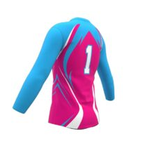 ZA Attack Long Sleeve Volleyball Jersey-1138