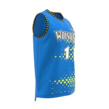 ZA GameDay Basketball Round Neck Jersey-1090