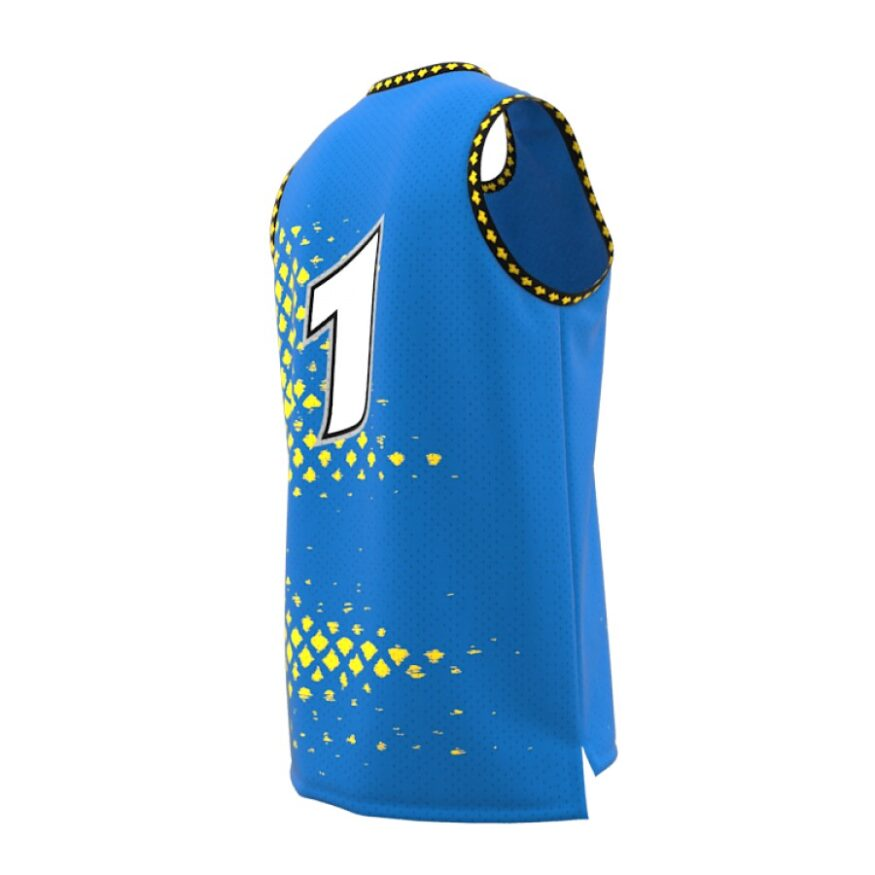 ZA GameDay Basketball Round Neck Jersey-1089