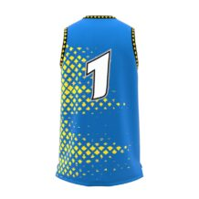 ZA GameDay Basketball Round Neck Jersey-1088