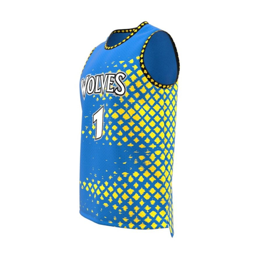 ZA GameDay Basketball Round Neck Jersey-1086