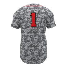 ZA Walk-Off Series Full Button Short Sleeve Baseball Jersey-1260