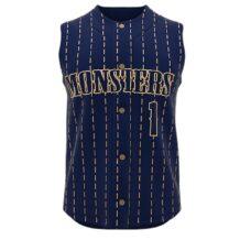 ZA Walk-Off Series Full Button Sleeveless Baseball Jersey-0