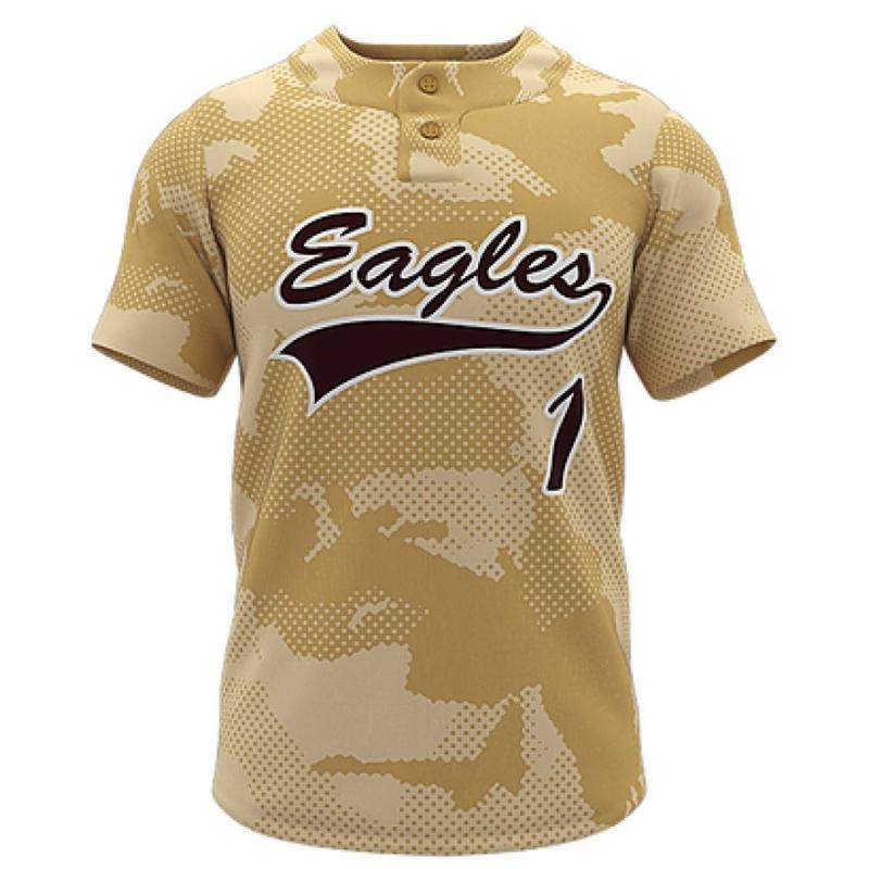 ZA Walk-Off Series 2 Button Short Sleeve Baseball Jersey-0