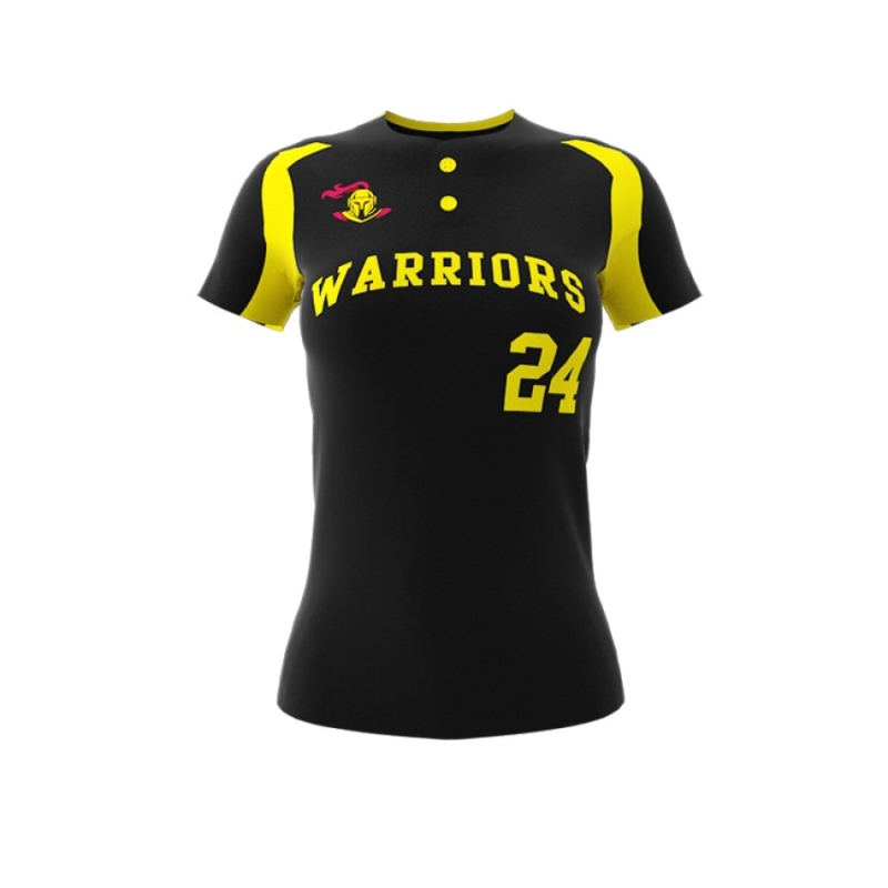ZA Diamond Fastpitch 2 Button Jersey-0