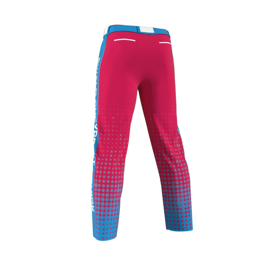 ZA Dinger Derby Full Sublimation Slowpitch Pants-1650