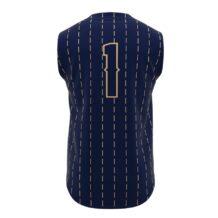 ZA Walk-Off Series Full Button Sleeveless Baseball Jersey-1255