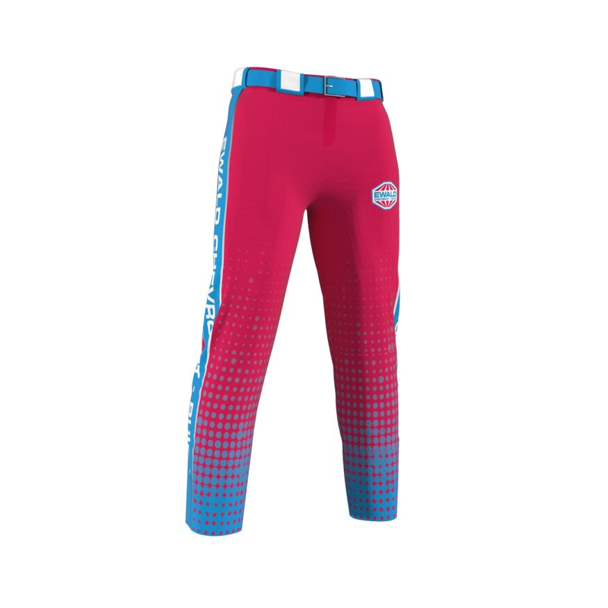 ZA Dinger Derby Full Sublimation Slowpitch Pants-0