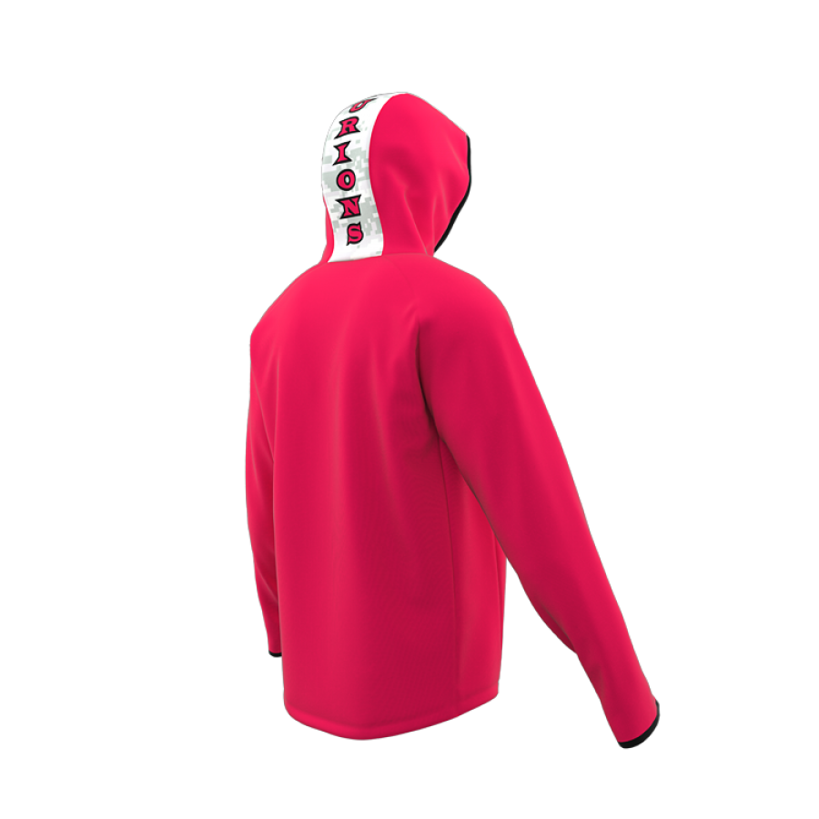ZA Icon ¼ Zip Hybrid Hooded Warmup-1882