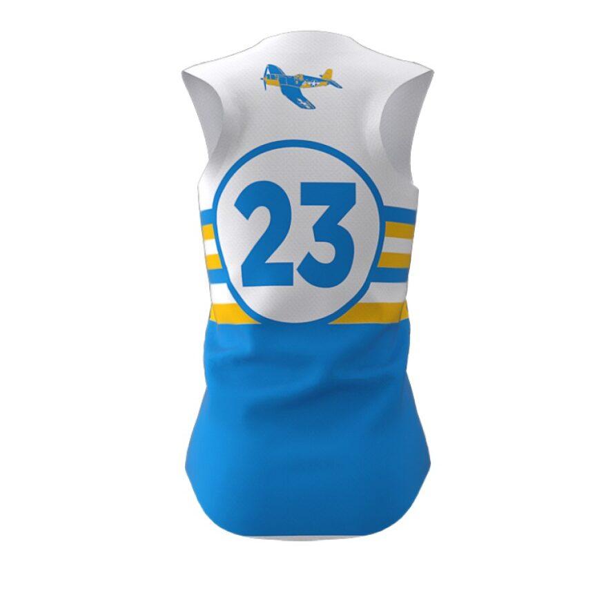 ZA Diamond Fastpitch Full Button Sleeveless Jersey-1461