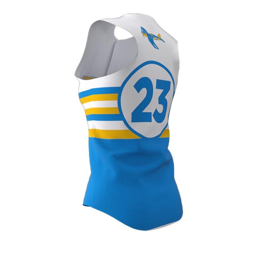 ZA Diamond Fastpitch Full Button Sleeveless Jersey-1462