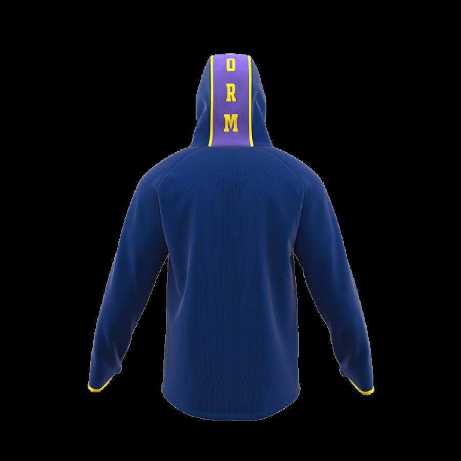 ZA Icon Full Zip Hybrid Hooded Warmup-1889