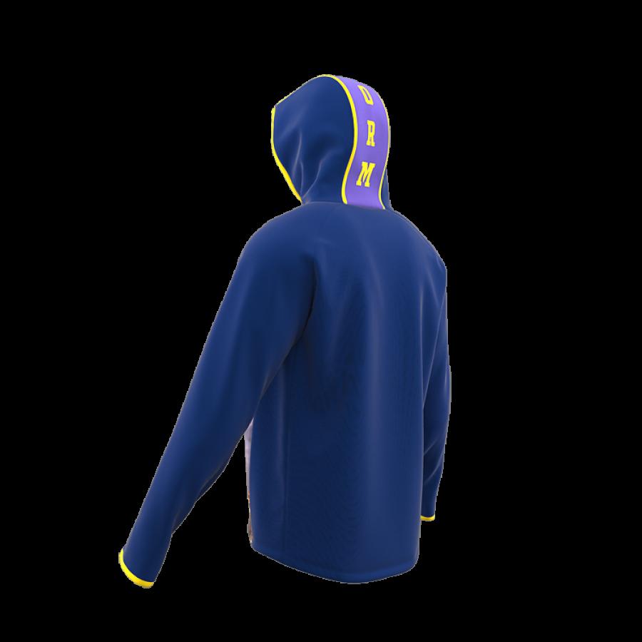 ZA Icon Full Zip Hybrid Hooded Warmup-1890