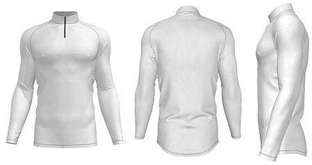 ZA Dinger Derby Long Sleeve 1/4 Zip Pullover-0