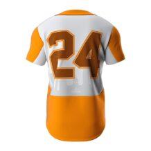ZA Dynasty Full Button Short Sleeve Jersey-1265