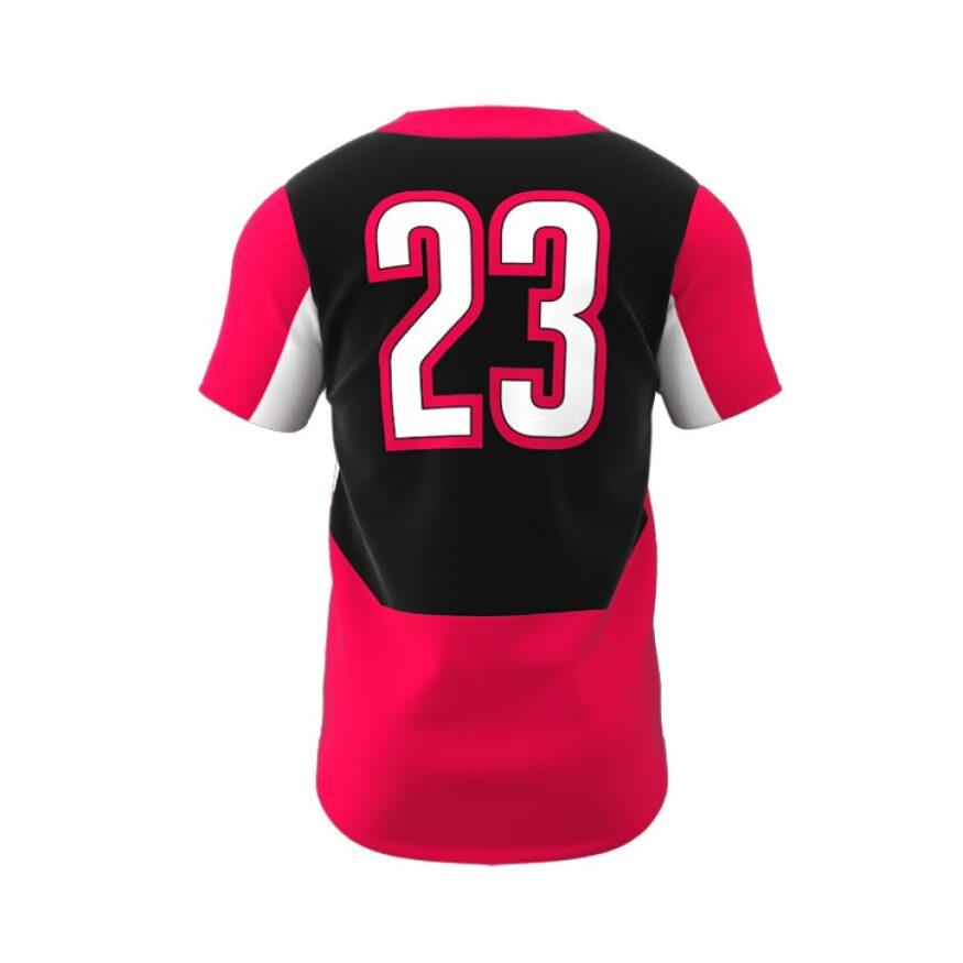 ZA Dynasty 2 Button Short Sleeve Jersey-1279