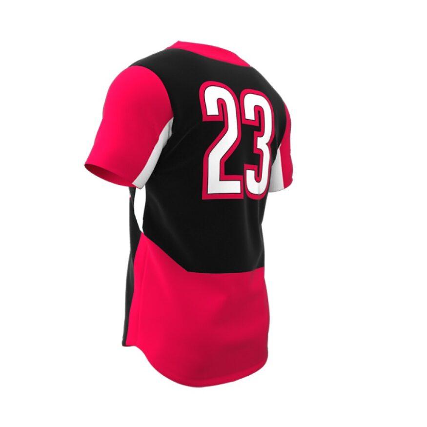 ZA Dynasty 2 Button Short Sleeve Jersey-1280