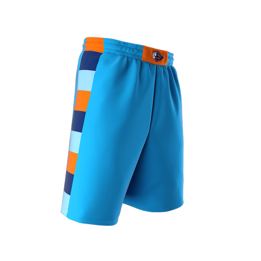ZA Dynasty Woven Basketball Shorts-1437