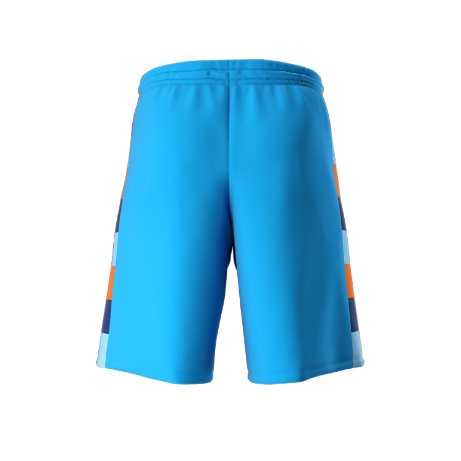 ZA Dynasty Woven Basketball Shorts-1439