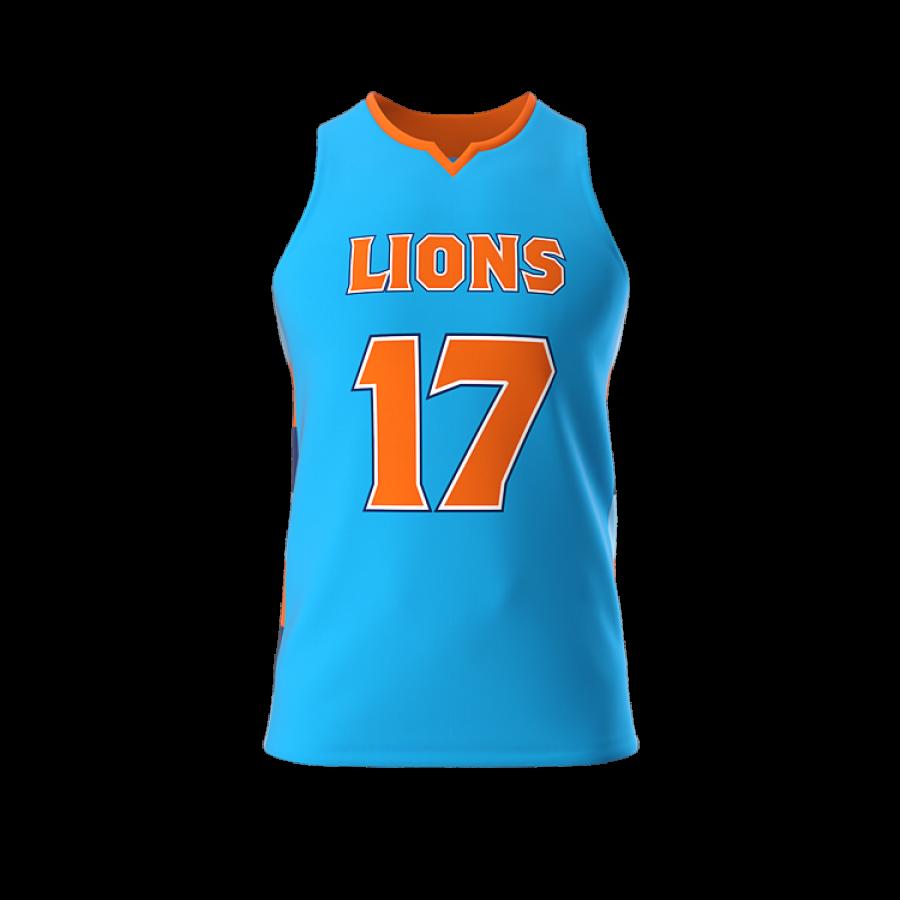 ZA Dynasty Woven Basketball Jersey-0