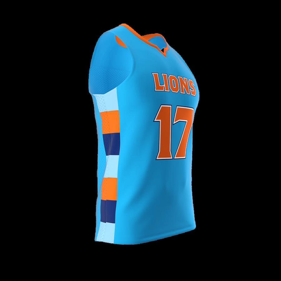 ZA Dynasty Woven Basketball Jersey-1431