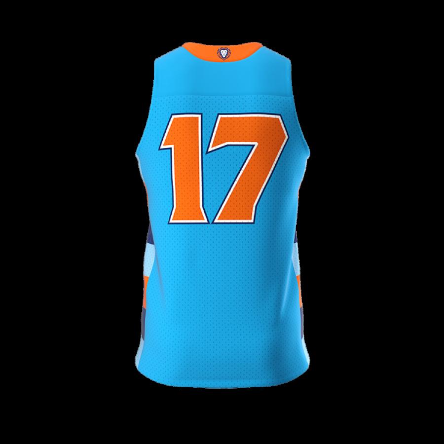 ZA Dynasty Woven Basketball Jersey-1433