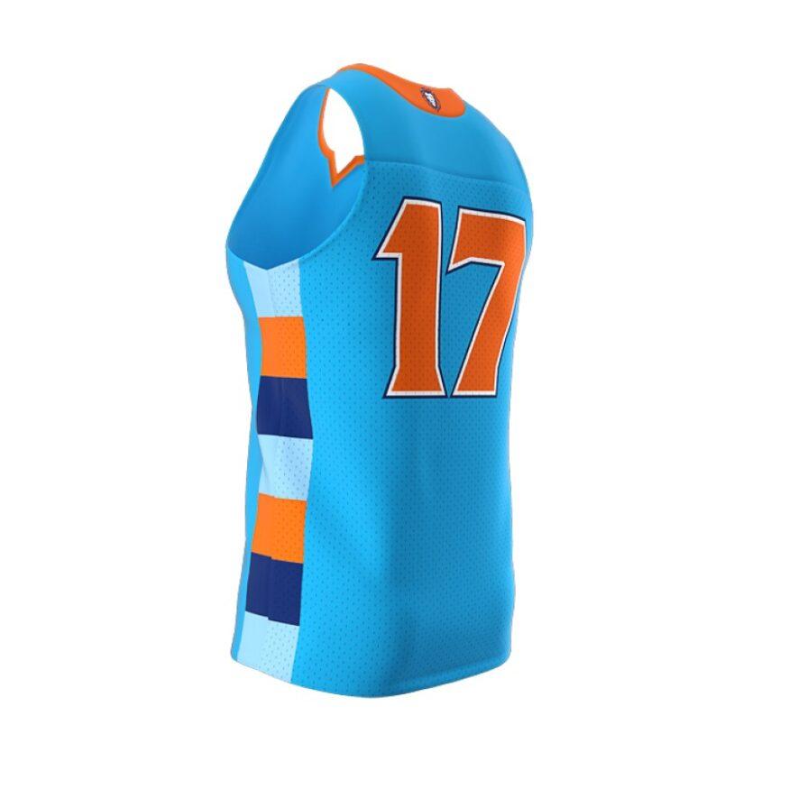ZA Dynasty Woven Basketball Jersey-1434