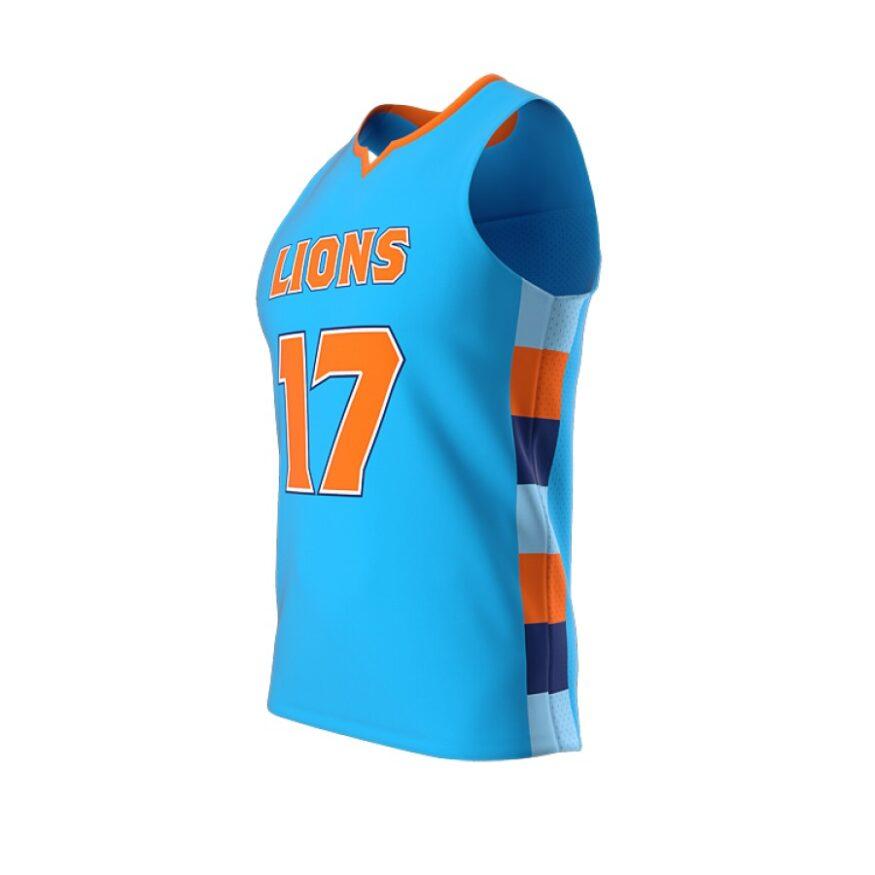 ZA Dynasty Woven Basketball Jersey-1435