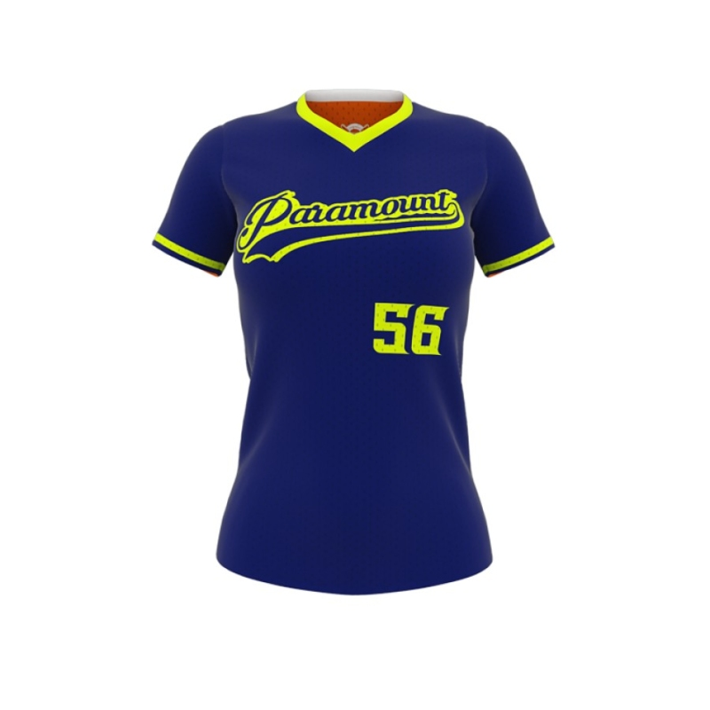 Diamond Double Header Reversible Softball Jersey-0