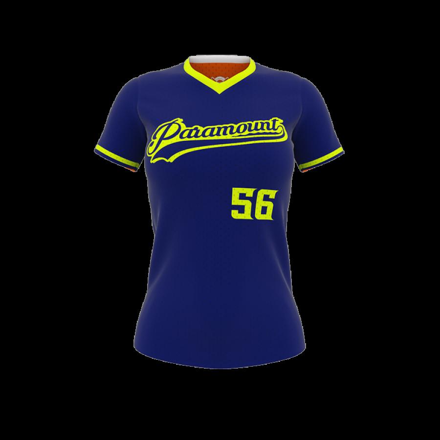 Diamond Double Header Reversible Softball Jersey-0