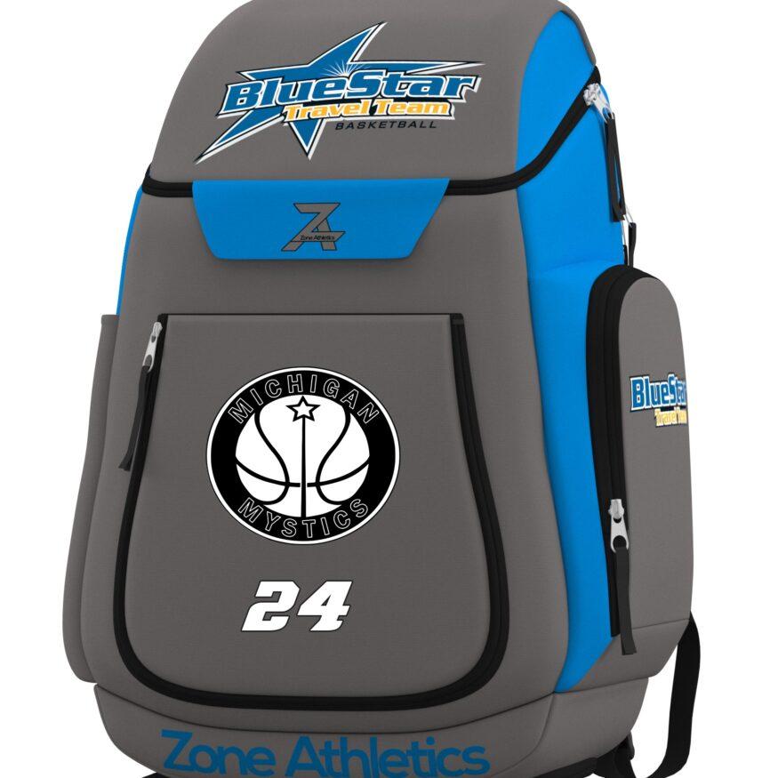 Icon - Blue Star Custom Backpack-0