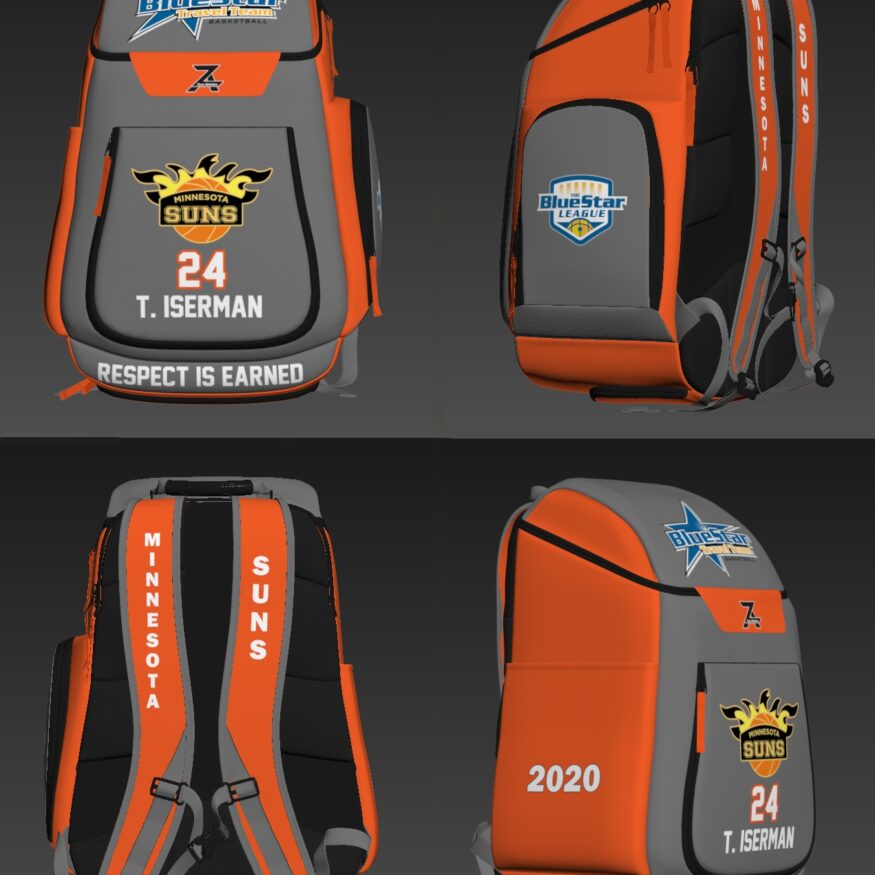 Icon Backpack - Minnesota Suns-0