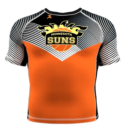ZA Force Compression Short Sleeve - Minnesota Suns-0