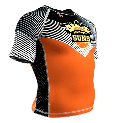 ZA Force Compression Short Sleeve - Minnesota Suns-2296