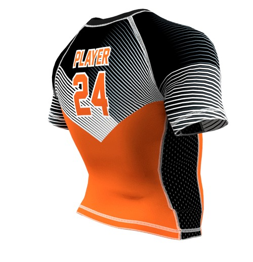 ZA Force Compression Short Sleeve - Minnesota Suns-2294