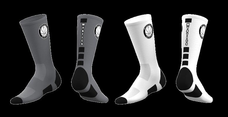Michigan Mystics Custom Socks 2019 - Combo-0