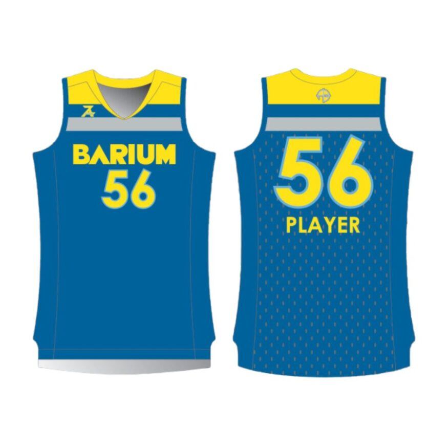 Barium Blue Jersey for Site