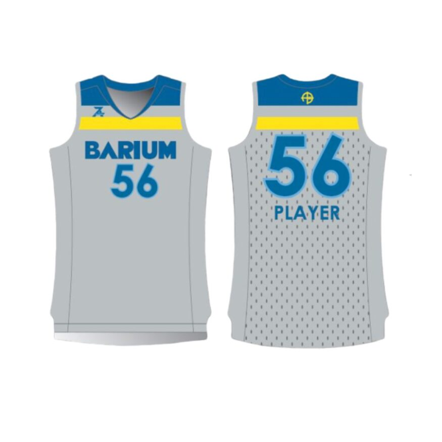 Barium Grey Jersey for Site