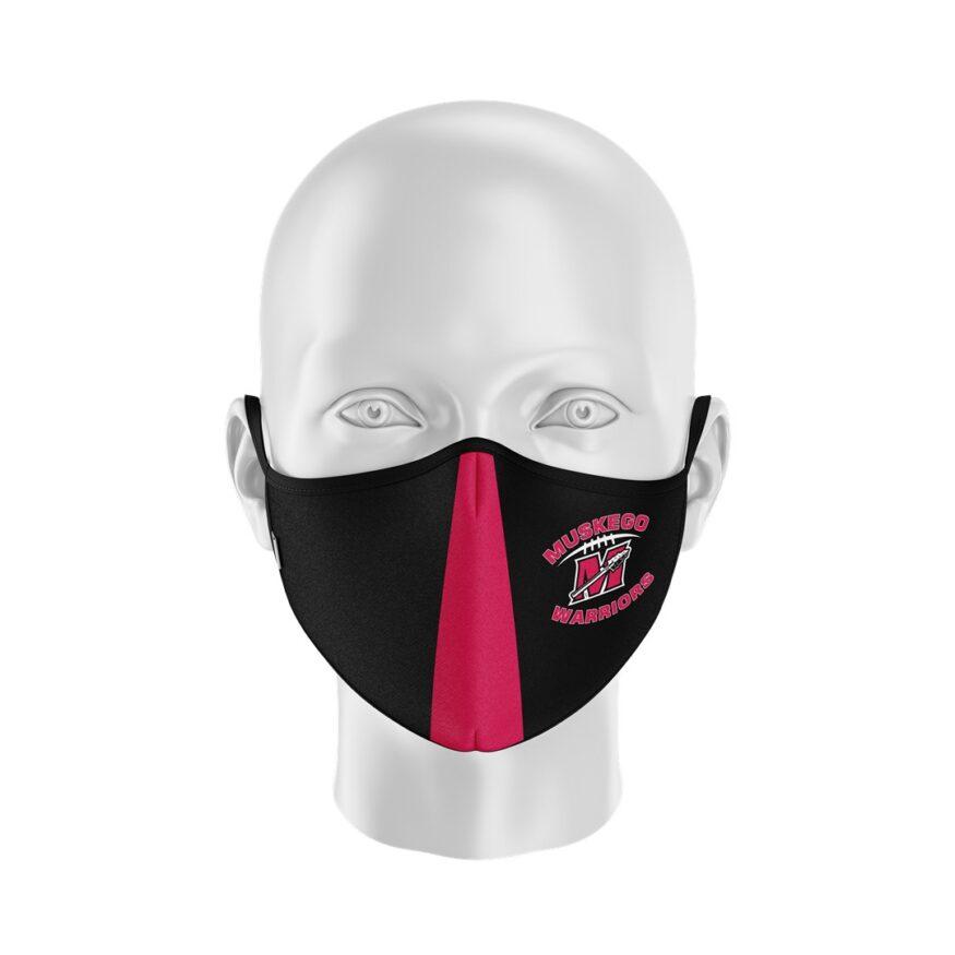 Muskego Warriors Softshell_Half Mask (Large)