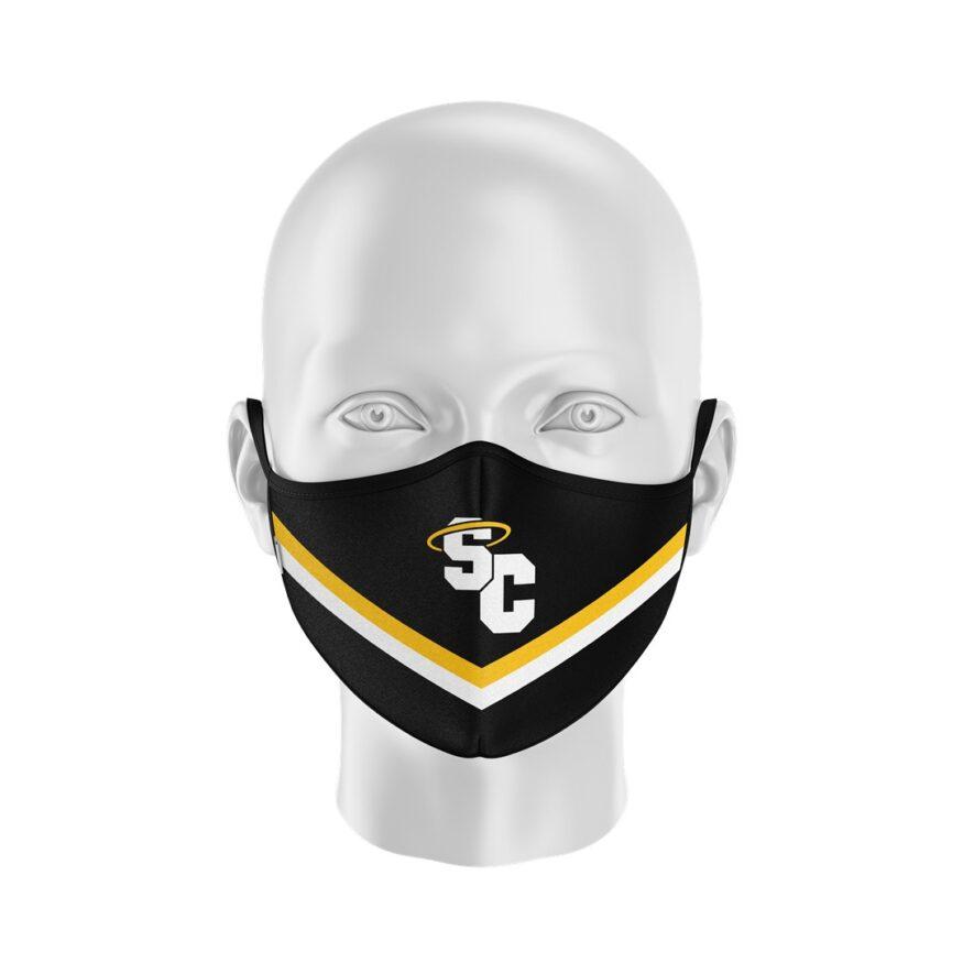 St Catherine's High School Football Polo Shirt_Half Mask (Large)